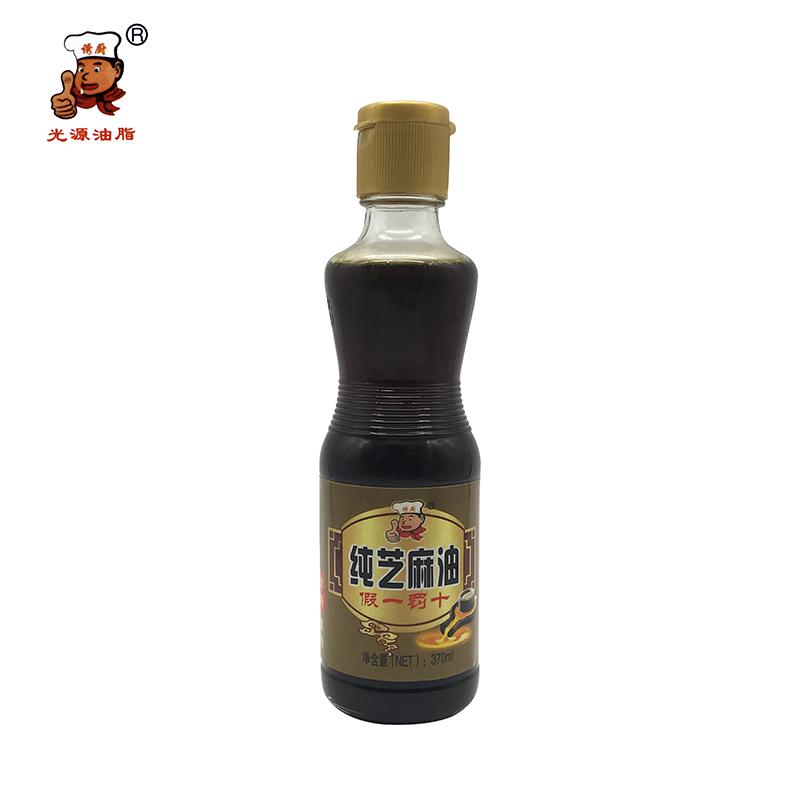 誘廚純芝麻油-370ml